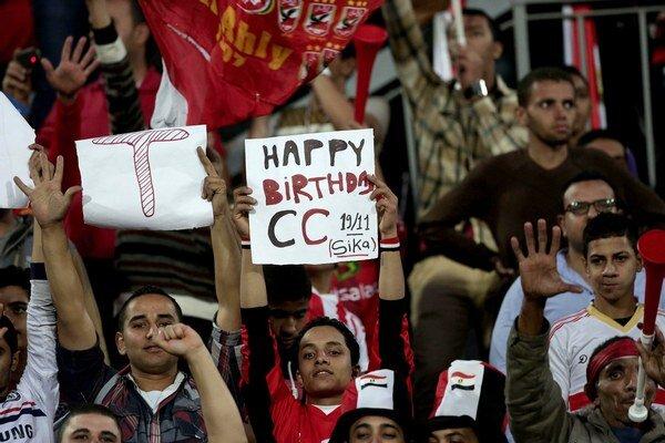 Diváci sa na futbal v Egypte zatiaľ nedostanú. Ilustračná snímka.
