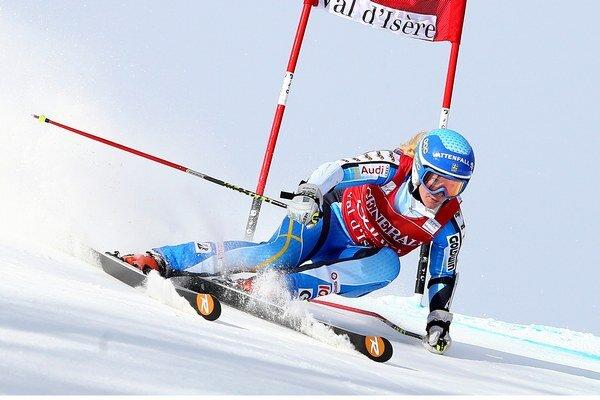 Jessica Lindellová-Vikarbyová bola v prvom kole najrýchlejšia.