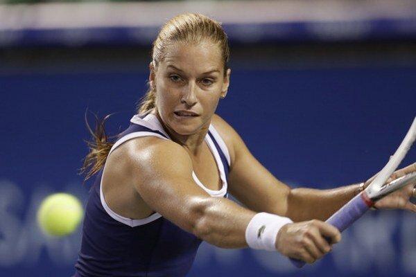 Dominka Cibulková si zahrá v Brisbane štvrťfinále dvojhry.