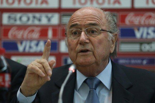 Takto zle sme na tom ešte neboli, odkázal Brazílčanom Sepp Blatter.