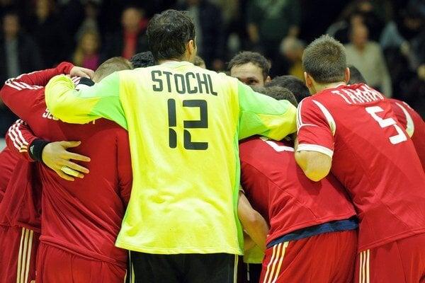 Slovenskí hádzanári.