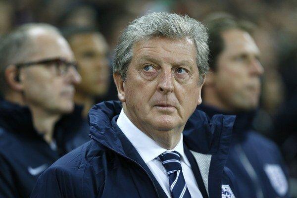 Tréner anglickej futbalovej reprezentácie Roy Hodgson.