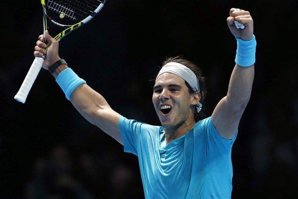 Momentálne najlepší svetový tenista Rafael Nadal.