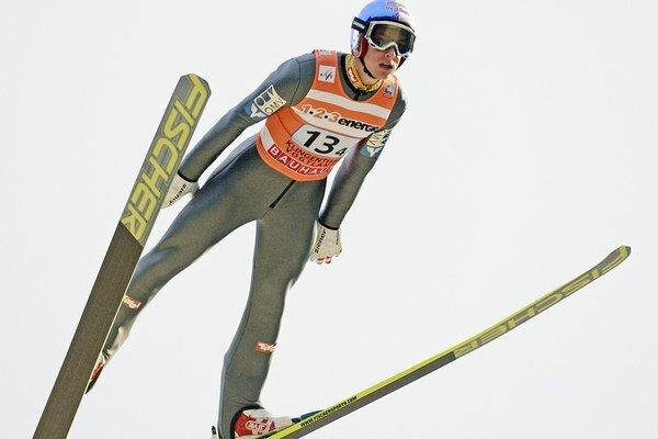 Gregor Schlierenzauer dosiahol najdlhší skok dňa.