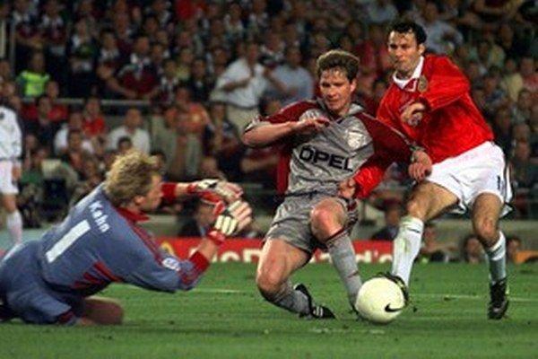 V roku 1999 vyhral Ryan Giggs Ligu majstrov.