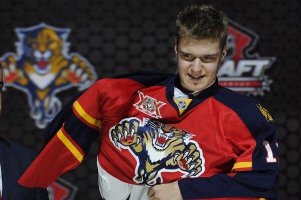 Európskou jednotkou júnového draftu sa stal fínsky útočník s ruskou krvou Alexander Barkov z Tappary Tampere, ktorého si z druhého miesta vybrala Florida Panthers. Ilustračná snímka.