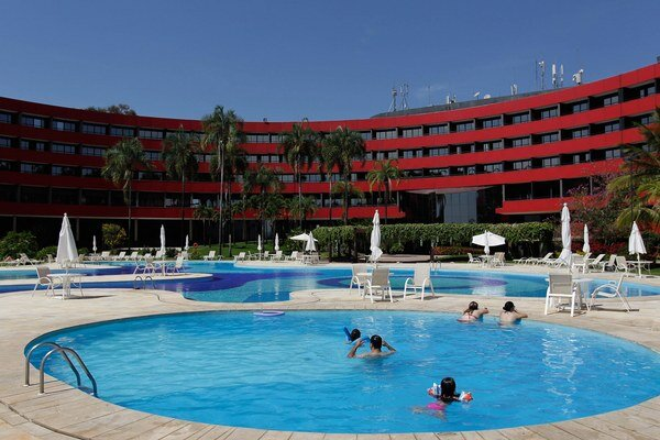 Hotel Golden Tulip Inn v Brazílii, kde budú ubytovaní fanúšikovia. Ilustračná snímka.