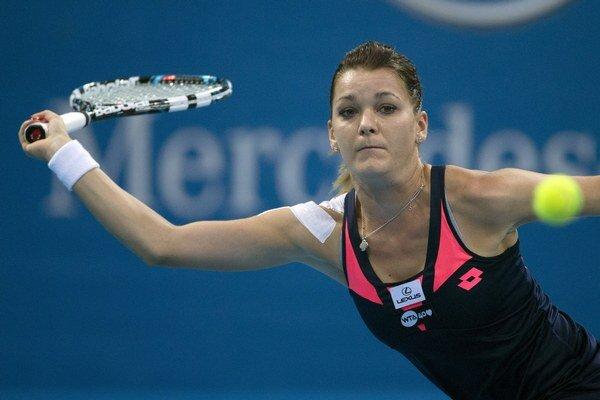 Agnieszka Radwanská.