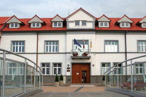 Mestský úrad v Senci.