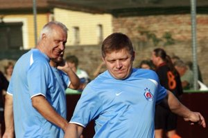 Dušan Galis s premiérom.