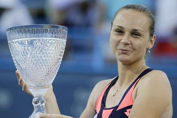 Magdaléna Rybáriková sa po triumfe vo Washingtone posunula v rebríčku zo 43. na 42. miesto. Už bola na 39. mieste.