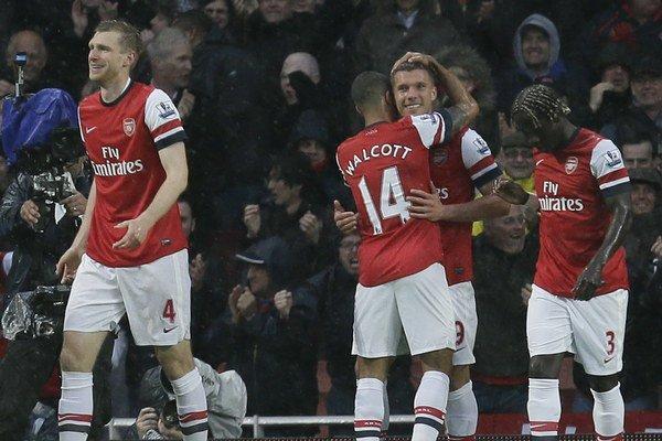 Arsenal stále môže postúpiť do Ligy majstrov.