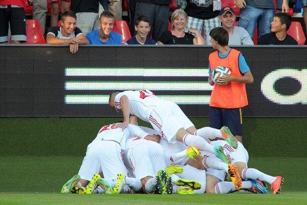 Trnavčania sú dva zápasy od skupinovej fázy Európskej ligy.