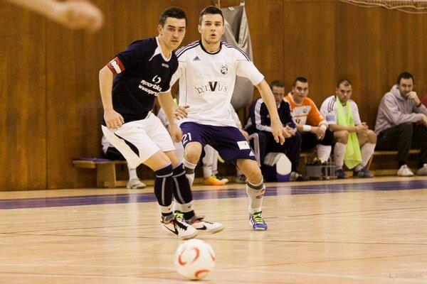 Jediný gól Trnavčanov zaznamenal Filip Novota (v bielom).