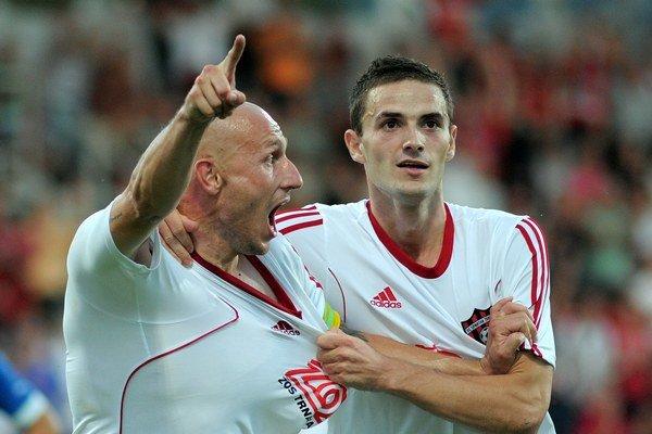 Janečka a Sabo sa postarali gólmi o postup Spartaka.