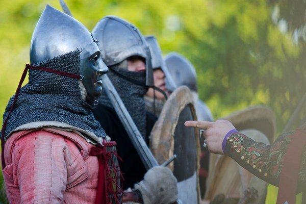 Návštevníci budú na Červenom Kameni sledovať osud mladého rytiera.