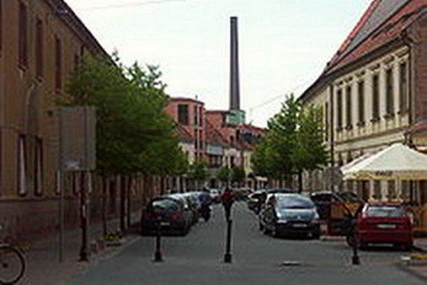 Františkánska ulica.