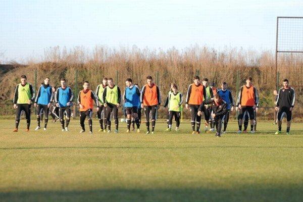 Spartakovci zarezávali v prvom tréningu na Slávii.