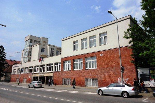 Právnická fakulta v Trnave.