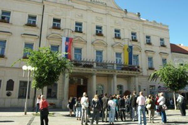Protest pred radnicou sa konal aj v septembri minulého roka.