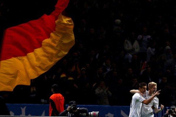 Miroslav Klose (vľavo) a Marco Reus