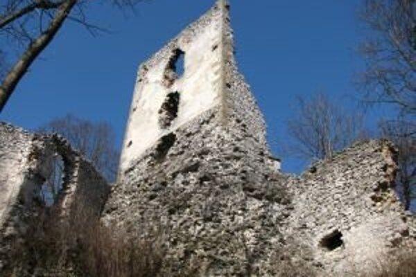 Zrúcaninu hradu zachraňuje OZ Renova.