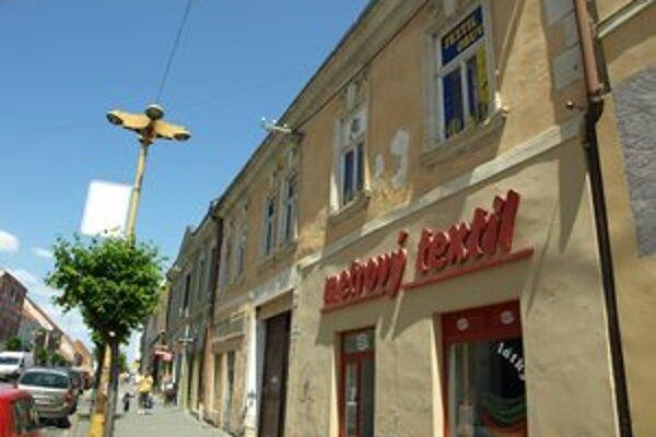 O domy v centre má záujem podnikateľ Trnka.