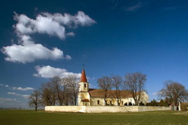 Kostol apoštolov Petra a Pavla.