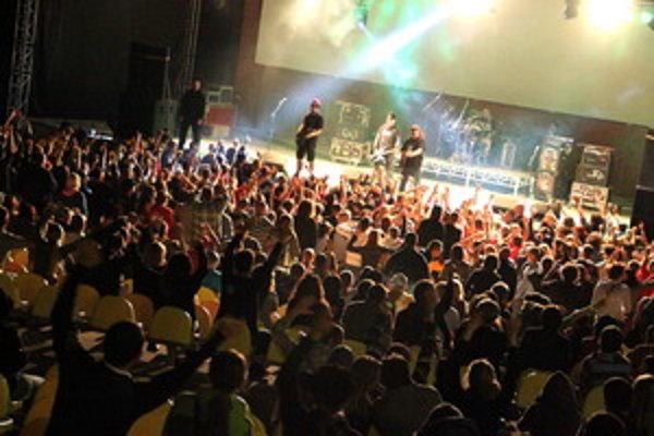 Kapela Horkýže Slíže zavítala do Trnavy v rámci tohtoročného Ekofestu.