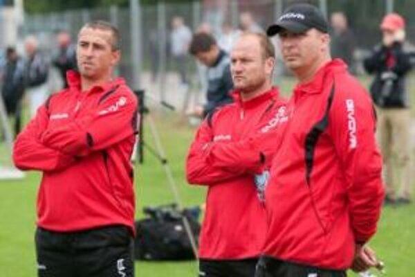 Spartakovci začali prípravu na sezónu pod vedením nového trénerského triumvirátu.