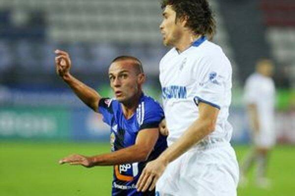Kamil Kopúnek nastúpil v sobotu na svoj prvý zápas v drese Saturnu Moskovská oblasť.