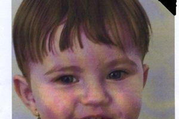 Trojročná Simonka Švecová.