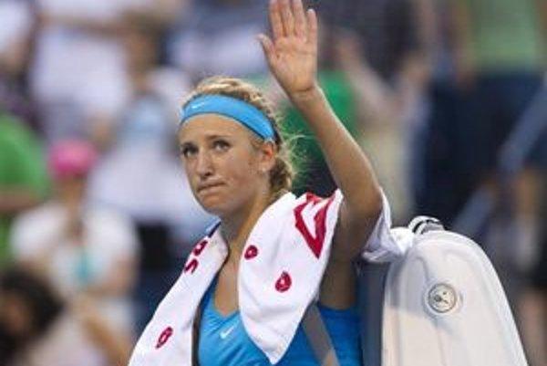 Nepríjemný hlasitý prejav má aj semifinalistka tohtoročného Wimbledonu Victoria Azarenková.