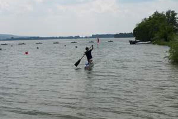 Vodné športy na Sĺňave.
