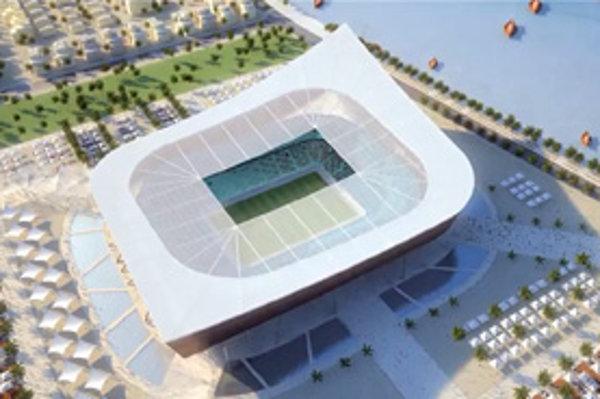 Projekt jedného z štadiónov pre MS 2022 v Katare.