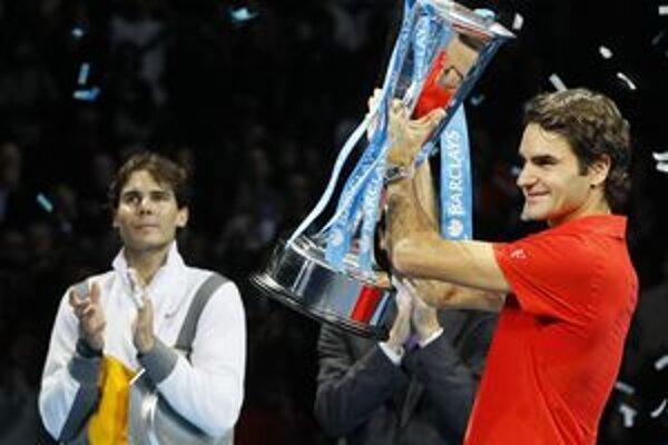Roger Federer predvádzal na konci sezóny v Londýne skvelé výkony.