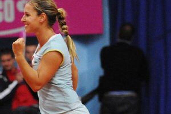 Dominika Cibulková pokračuje v Madride ďalej.