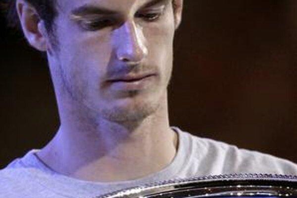 Andy Murray po prehratom finále na Australian Open.