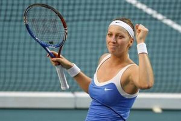 Petra Kvitová má namierené do top ten.