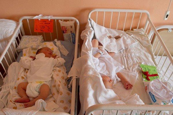 Počet narodených detí rastie.