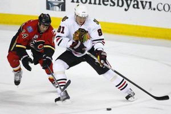 Marián Hossa si udržuje v NHL status hviezdy.