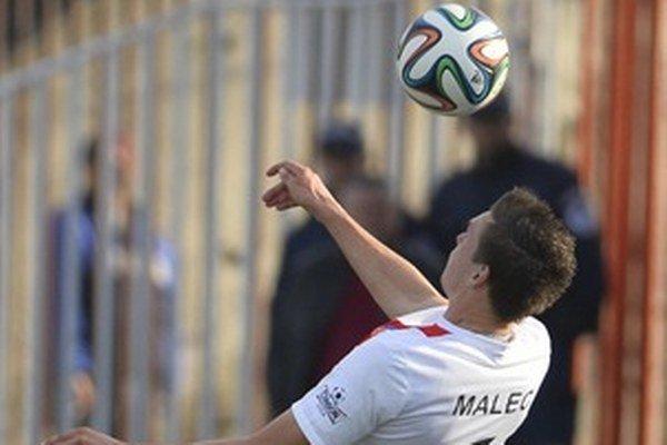 Tomáš Malec strelil jeden z gólov Trenčína.