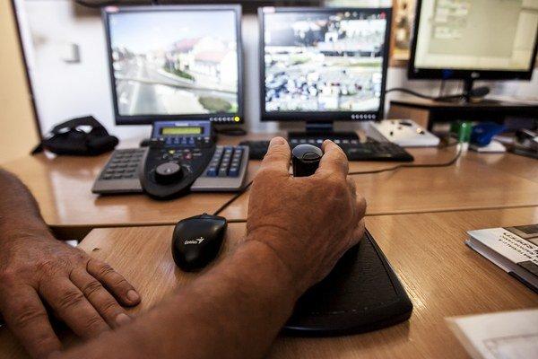 Kamery pomáhajú pri odhaľovaní priestupkov i trestných činov.