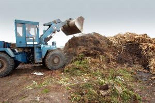 Kompostáreň je dôležitá pre životné prostredie.