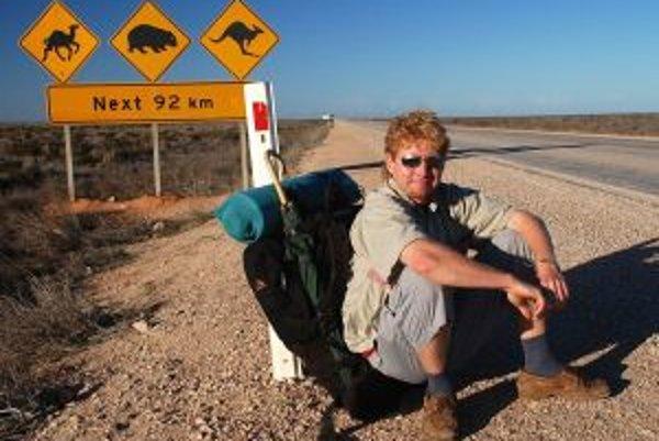 Cestovateľ Roman Vehovský zavítal aj do Austrálie.