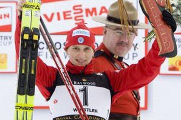 Alena Procházková sa teší z víťazstva vo Svetovom pohári.