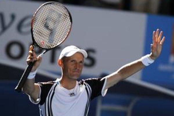 Vo štvrťfinále Australian Open nechýba aj jeden z najväčších favoritov, Rus Nikolaj Davydenko.