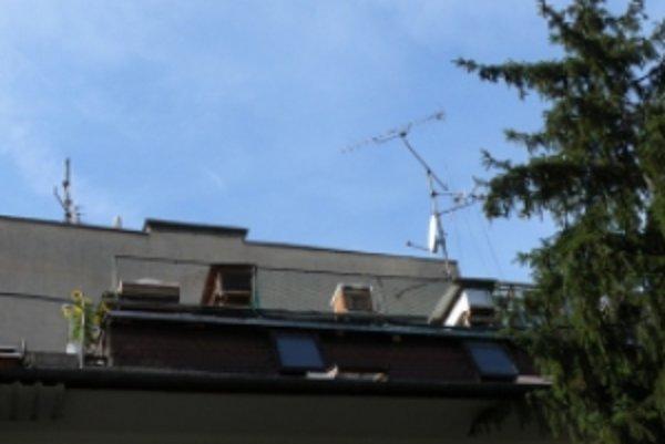 Úle s včielkami si postavil chovateľ priamo na streche.