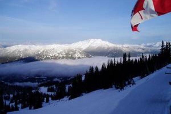 Hmla nad Whistlerom
