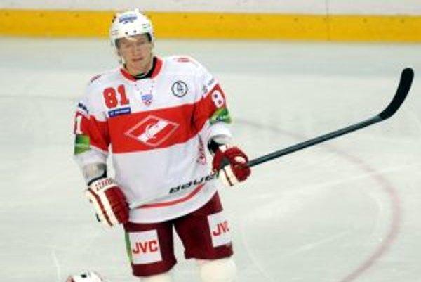 Mladší z bratskej dvojice Hossovcov už dres Spartaka Moskva neoblečie.